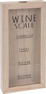 Dispenser pentru dopuri de vin, cu scala