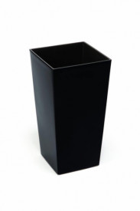 Ghiveci de plastic, neagra, 14x26 cm