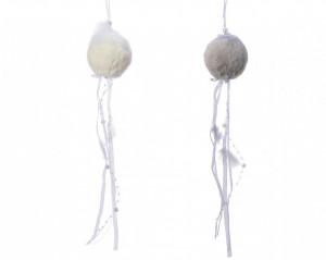 Glob de plus, ghirlanda, 34 cm