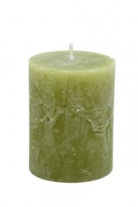 Lumanare olive, 7x9 cm