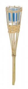 Lumanare torta, bambus, Citronella, 30 cm