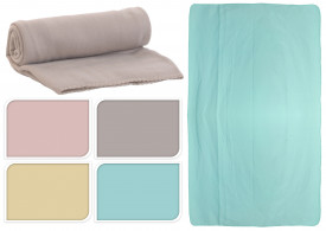 Patura fleece diverse culori 160 x 130 cm