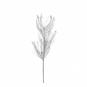 Pick floare artificiala, crem, 77x15cm