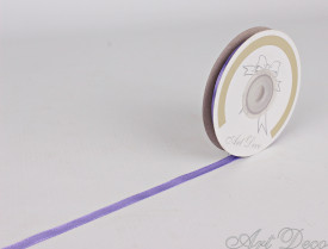 Rola de satin, 6mm*25m, lila