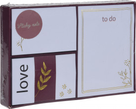 Set notes, Pretty, 5 piese