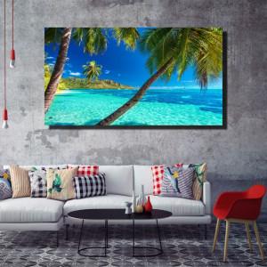 Tablou canvas pe panza beach 9 - KM-CM1-BCH9
