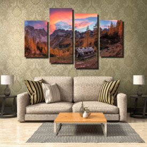 Tablou canvas pe panza landscape 33 - KM-CM4-LND33