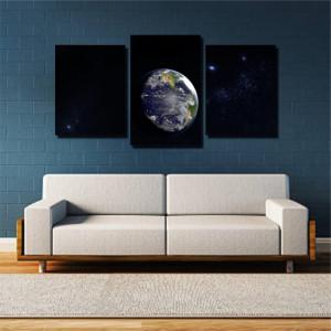 Tablou canvas pe panza space 4 - KM-CM3-SPC4
