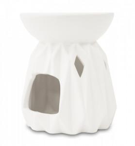 Aromatizor ceramica, alb, 12x10 cm