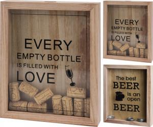 Dispenser pentru dopuri de sticla vin/capace de bere