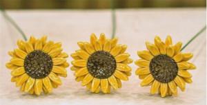 Floare ceramica Floare soarelui