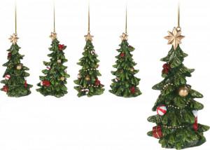 Ornament, brad cu agatatoare, Xmas, 11cm