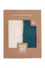 SET 2 PROSOAPE BAIE 50X90 CM - BLUE MIX