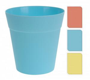 Set 3 ghivece plastic, color