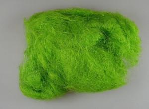 Sisal verde aprins, 100gr