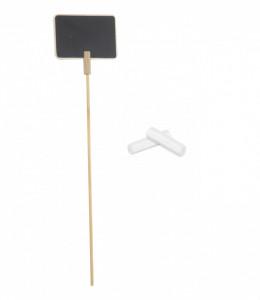 Tabla mini pentru flori + creta, 7x7 cm