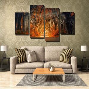Tablou canvas pe panza landscape 14 - KM-CM4-LND14