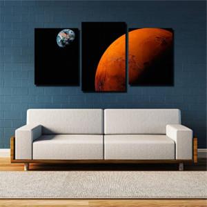 Tablou canvas pe panza space 5 - KM-CM3-SPC5