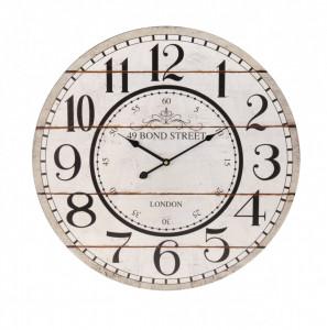 Ceas de perete, MDF, Bond Street, 60 cm