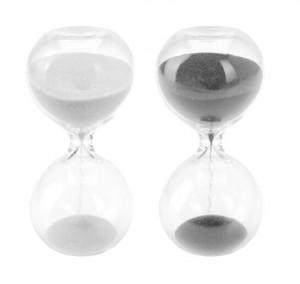 Clepsidra de 8 minute, 4.5x9.5 cm