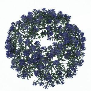 Coronita artificiala, flori, diametru 20 cm