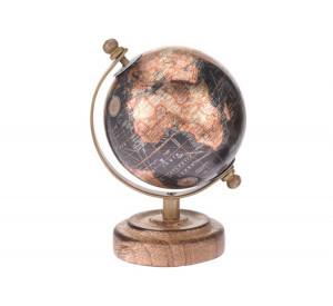 Decoratiune, glob pamantesc, 8 cm