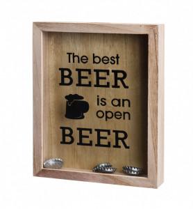 Dispenser pentru dopuri de sticla bere