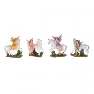 Figurina, zana cu unicorn, 8 cm