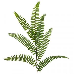 Floare artificiala, creanga Feriga, 48 cm