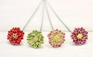 Floare ceramica Dalia