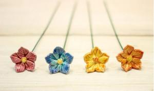 Floare ceramica Fairy-Flower