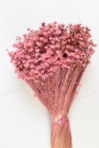 Flori uscate, Glixia, roz, 75g