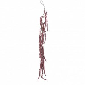 Ghirlanda artificiala cu bobite, rosu, 109 cm