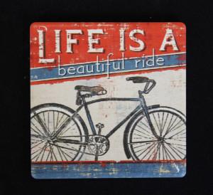 Magnet cu mesaj, Life