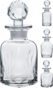 Sticluta decorativa, transparenta, 12 cm