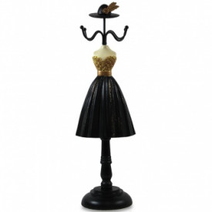 Suport bijuterii manechin, model rochie, 33.5x10x8.5 cm