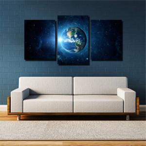 Tablou canvas pe panza space 6 - KM-CM3-SPC6