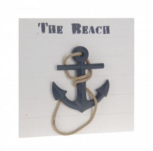 Tablou design marin, ancora, The Beach