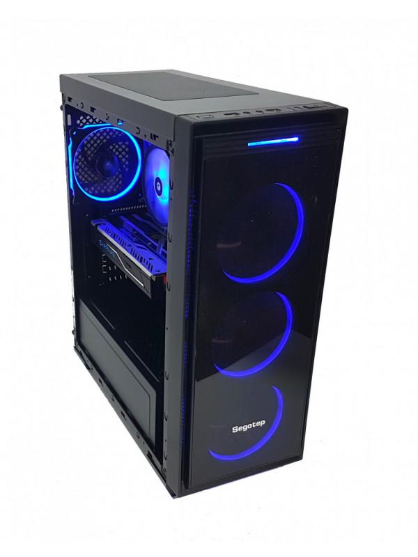 Calculator gaming Intel Haswell i5 4570, 16GB DDR3, SSD 480GB + HDD 1TB, video Sapphire Radeon RX 480 NITRO+ OC 4GB GDDR5 256-bit Lite