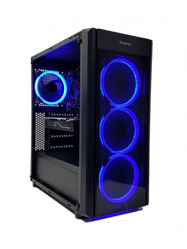 Calculator gaming Intel Haswell i5 4590, 16GB DDR3, SSD 240GB + HDD 1TB, video Sapphire Radeon RX 480 NITRO 4GB GDDR5 256-bit Lite