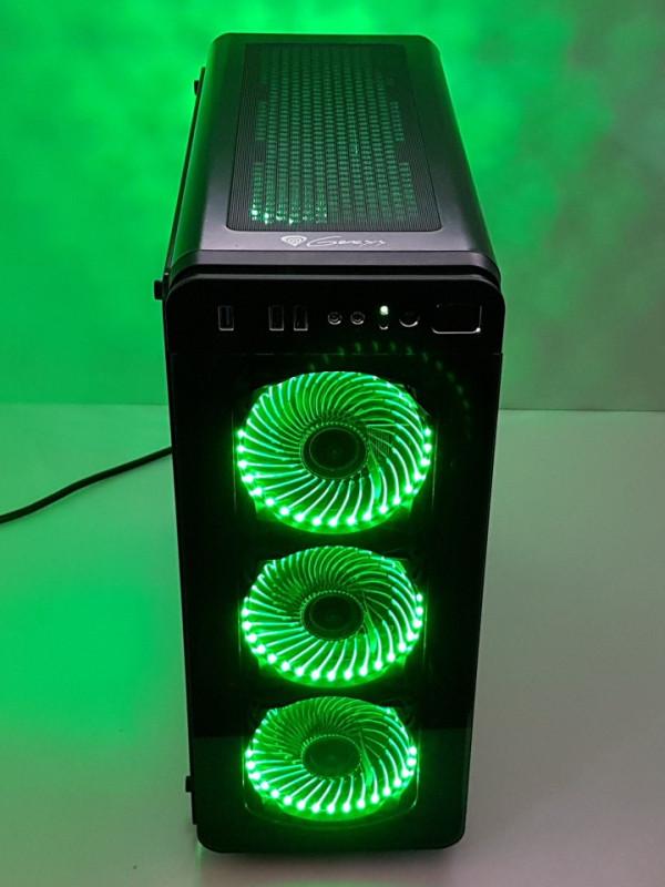 Calculator Gaming AMD RYZEN 7 1700, 16GB DDR4, SSD NVMe 512GB + 1TB HDD, video Sapphire Radeon RX 580 NITRO+ 8GB GDDR5 256-bit
