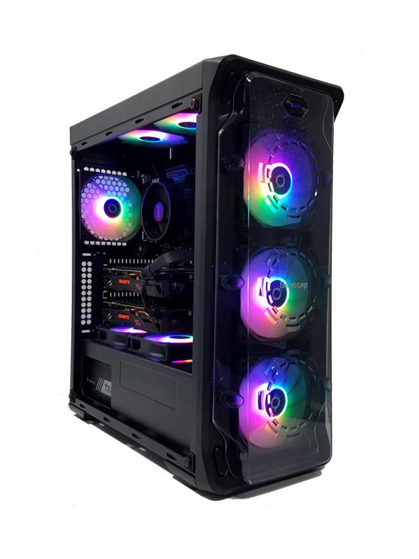 Calculator Gaming AMD Ryzen 5 1500x, 16GB DDR4, NVME M2 256GB + SSD 480GB + 1TB HDD, video 2 placi GIGABYTE Radeon RX 570 GAMING 4GB GDDR5 256-bit, CrossFire