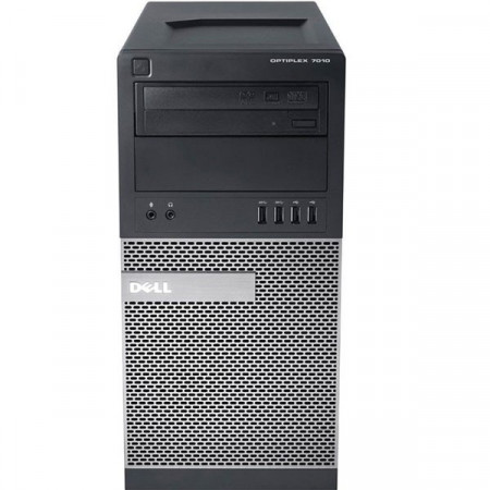 Calculator Dell Optiplex 7010 MT, Intel Core i5-3570 3.4GHz (3.8GHz), 8GB DDR3, SSD 120GB + HDD 500 GB, video Inno3D GeForce GTX 1050 Ti Compact 4GB GDDR5 128-bit, DVD-RW