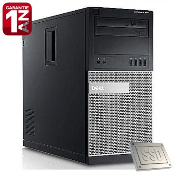 Poze Calculator Dell Optiplex 990 MT, Intel Pentium G620 2.6GHz, 4GB DDR3, SSD 128GB SATA3, Video HD Graphics, DVD-RW