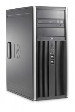 Poze Calculator HP Compaq 8000 Elite Tower, Core 2 Quad Q9400, 4GB DDR3, 1TB HDD, DVD-RW