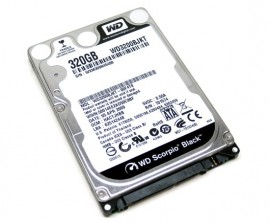 Poze Hard disk laptop 320GB SATA2, Western Digital Scorpio Black WD3200BEKT, 7200rpm