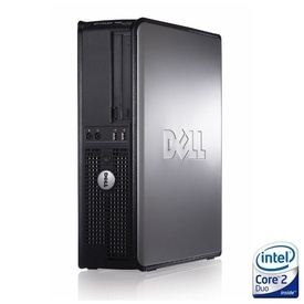 Calculator Dell Optiplex 775 DT, Intel Core 2 Duo E7500 2.93GHz, 2GB DDR2, 80GB, DVD-ROM