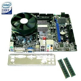 Kit Placa de baza MSI G41M-S03 + Intel Quad Core X5460 3.16GHz + 4GB DDR3 + Cooler