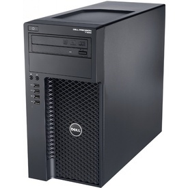 Workstation Dell Precision T1650 Intel Quad Core i7-3770 3.40GHz, 8GB ram, SSD 128GB+500GB, DVD-RW