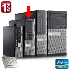 Calculator Dell Optiplex 7010 SFF, Intel Core i5-3570 3.4GHz (3.8GHz), 4GB DDR3, SSD 128GB SATA3, USB 3.0, DVD-RW